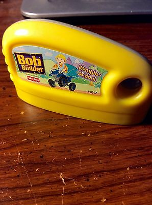 Fisher Price Smart Cycle Bob The Builder Rumble Action Game Cartridge Only