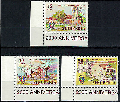 Albania 2000 _ The 2000-th Anniversary of the Birth of Jesus Christ - MNH**