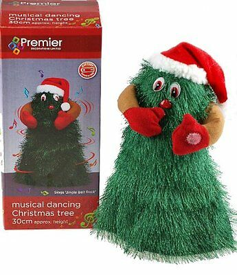 Singing and Dancing Musical Novelty Christmas Tree Decoration