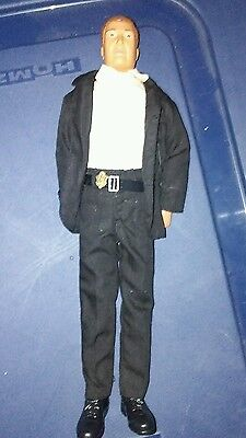 12 in police doll/figure