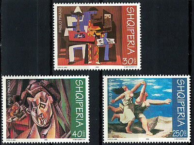 Albania 2000 _ Picasso Paintings _ Full Set - MNH**