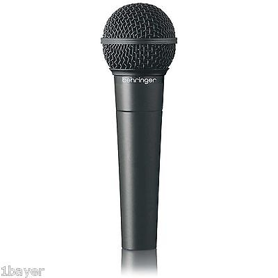 Behringer Dynamic Cardioid Karaoke Audio Pro Studio Voice Recording Microphone
