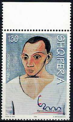 Albania 2000 _ Picasso Paintings - MNH**