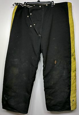 Janesville Firefighter Bunker Turnout Pants Liner 46x28 Prepper Fire Safety PPE