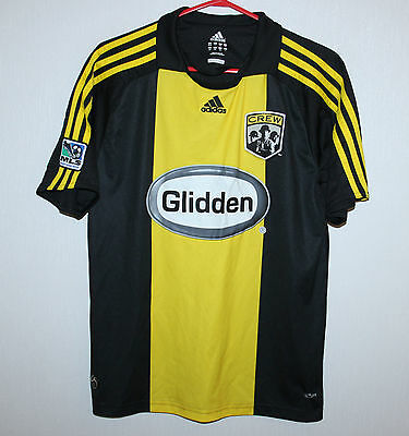 Columbus Crew USA MLS away shirt 08/09 Adidas Size 32/34