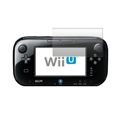 2 Screen Protectors for Nintendo Wii U Hand-held Game Pad ( 2 Pack )