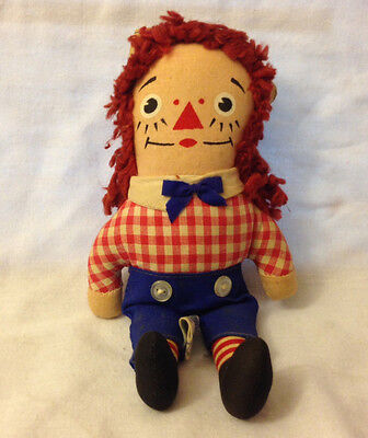Vintage Raggedy Andy by Knickerbocker 1970's