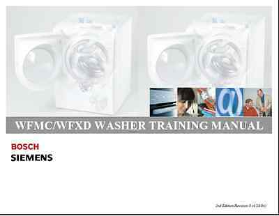 Repair Manual: BOSCH WASHERS & DRYERS (choice of 1 manual,models in description)