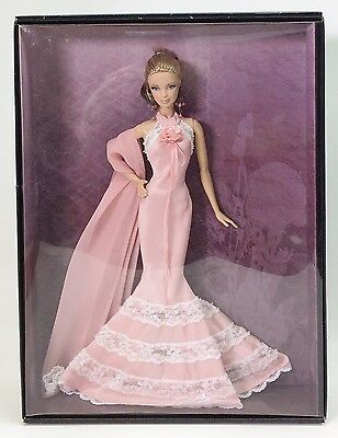 Badgley Mischka Barbie Doll Gold Label Nrfb