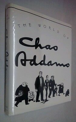 The WORLD of CHAS ADDAMS~fromThe NEW YORKER~1991 Stated 1st Ed~HCDJ in New Mylar