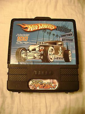 Hot Wheels Racing Team Carrying Case Holds 100 Cars