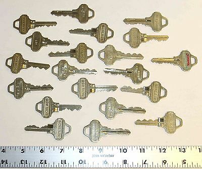 20 cut Schlage Everest C123 keys for 1 price - home and business security