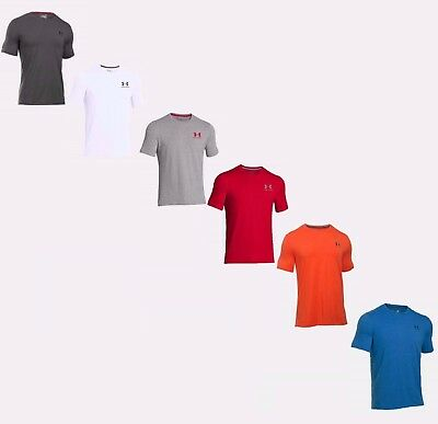 Under Armour Men's UA Charged Cotton Sportstyle Short Sleeve T Shirt - NWT