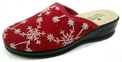 BEST MEDICAL ciabatte donna mod. 30 FROZEN  rosso MADE IN ITALY slippers