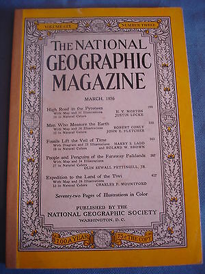 National Geographic - March 1956 - Pyrenees - Penguins of the Falklands - Tiwi