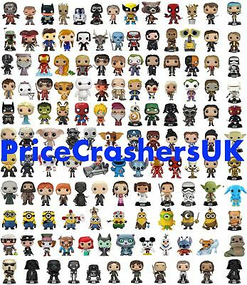 Funko Pop! Vinyl Figures Massive Collection Marvel Disney Star Wars Kids Gift TV