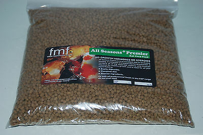 Koi Carp Pond Food FMF All Season Premier + 2000g Bag 6 mm Pellets