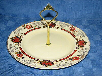 Vintage A. J. Wilkinson, Royal Staffordshire Cake Stand, Cake Plate, High Tea. H