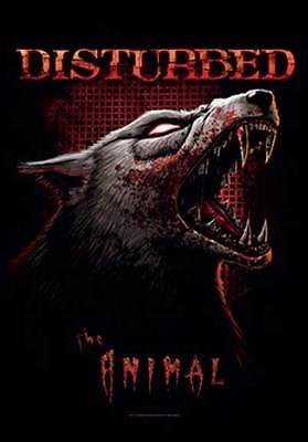 Disturbed The Animal  Music  Flags Wall Hanger Made In Italy Licensed   L 1126