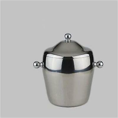 New Design Small Double Stainless Steel Ice Champagne Bucket