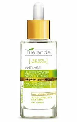 BIELENDA FACE SERUM Active Corrective Anti-Age Skin Clinic 30ml  DAY/NIGHT