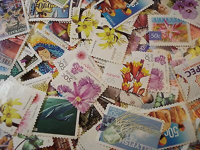 Australia 50 Cent Uncancelled Unfranked postage stamp off paper FV $100 200 Pcs