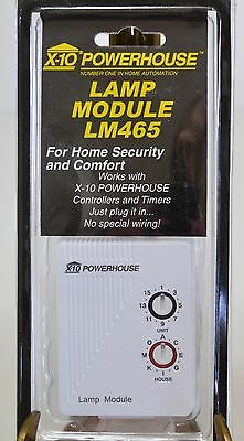 X-10 Powerhouse Lamp Module Lm465 - Home Security