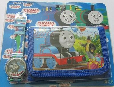 Thomas the Tank Engine Watch and Wallet Set Kids Boys Girls Present