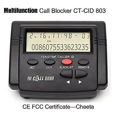 Cheeta Powerful Multifunction Call Blocker With Call ID DisplayBlock All Spam...