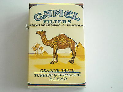 Camel  Collector pack  USA - Tax exempt  - full