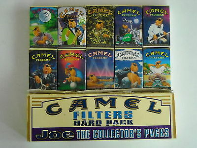 Camel 10 Collector packs + box - USA 1996  - full