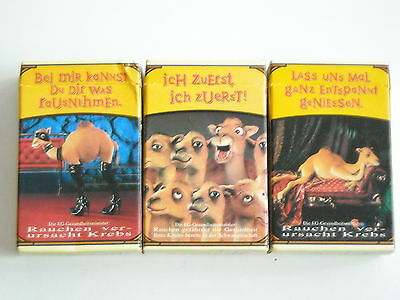 Camel 3 Collector packs Germany - 1996 - empty