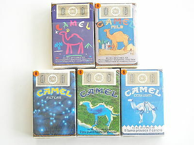 Camel 5 Collector pack Italia 1993 - full/empty