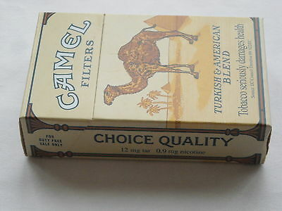 Camel Collector pack Duty Free - empty