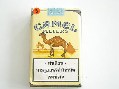 Camel Collector pack Thailand 1995 - soft - full