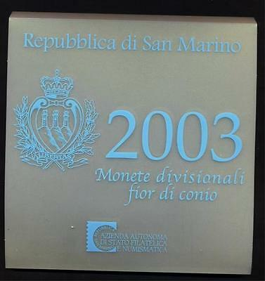 SAN MARINO DIVISIONALE 2003 - FDC - 2003g