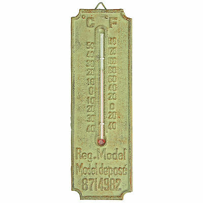 Industrial Heritage Garden Thermometer Centigrade and Fahrenhiet