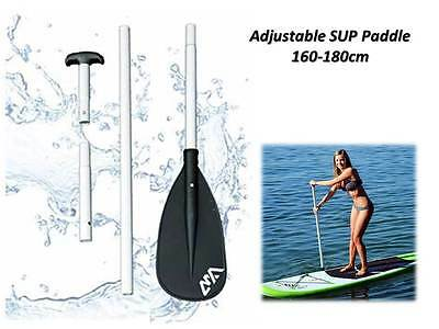 Adjustable SUP Paddle, Aluminium Paddle 160-180cm - for StandUp Paddeling Boards