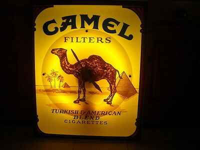 CAMEL neon sign - leuchtschild - Belgium - 220V - very old - very rare