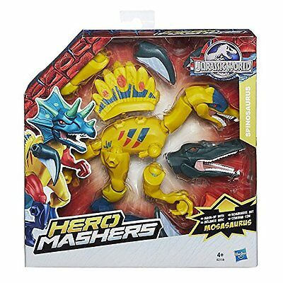 Jurassic World - Hero Mashers Dinosauri con Accessori