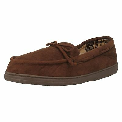Mens William Lamb Moccasin Style Slippers Floyd