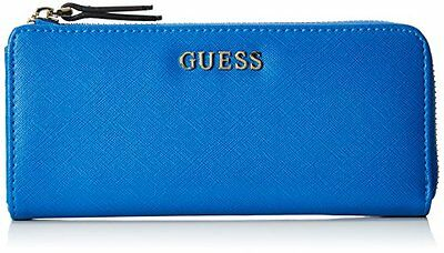 Guess Sissi Zip It Up Wallet Portamonete, Blu