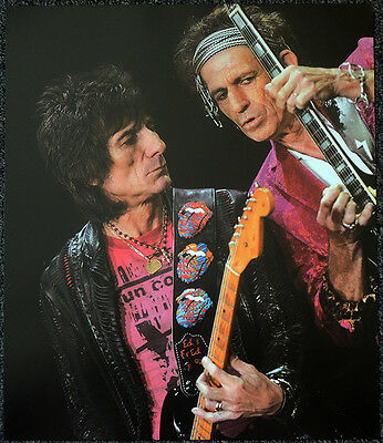 The Rolling Stones Poster Page Keith Richards & Ron Wood . Y98