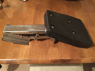 Stainless Steel Auxilliary Outboard Engine Bracket For Boat