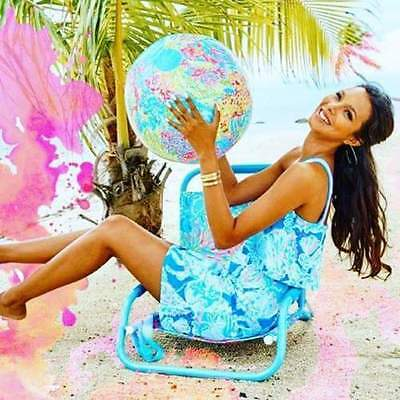 Lilly Pulitzer Beach Ball Lovers Coral  GWP Splash into Summer 2016