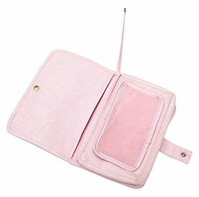 Snoozebaby Baby Wipes-Sacchetto polvere, colore: rosa