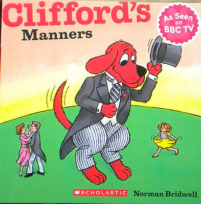 Clifford Manners Children's story picture book new