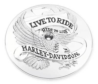 Harley Davidson Live To Ride Ride To Live Air Cleaner Trim Late Dyna Fxr