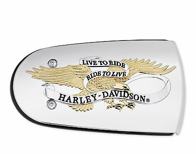 Harley Davidson Live To Ride Ride To Live Air Cleaner Trim Late Tourers Softail