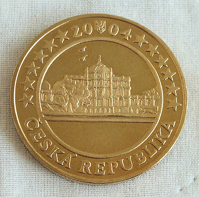 Czechoslovakia 2004 Trial Prooflike Pattern 5 Euro